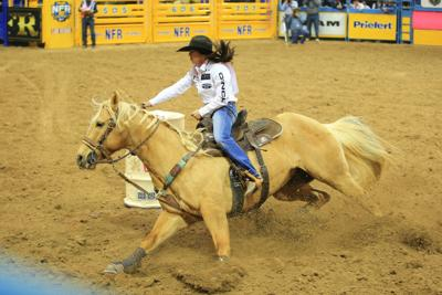 National Finals Rodeo Butte S Bridger Chambers Finishes
