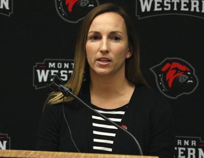 Montana Western Katie Lovett volleyball coach