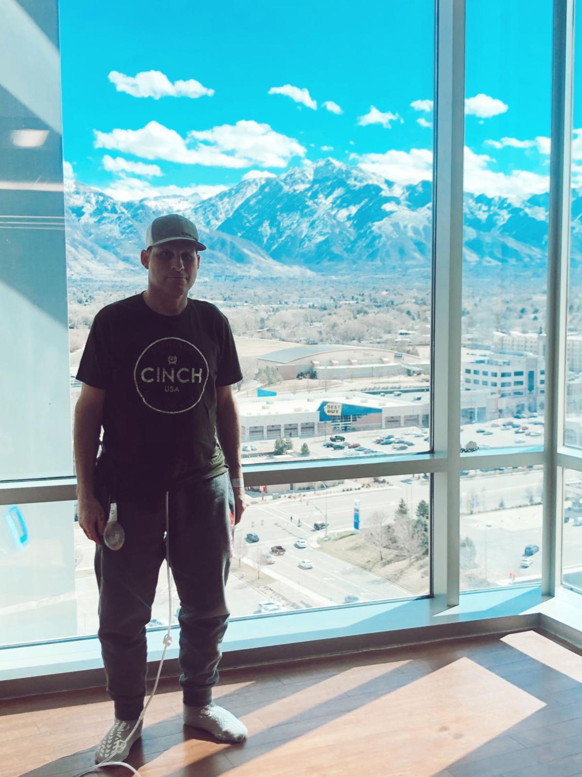 Jessy Davis in Utah hospital