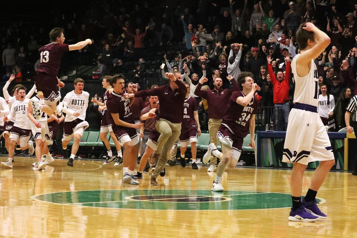 Butte High School vs. Butte Central High School goes to overtime