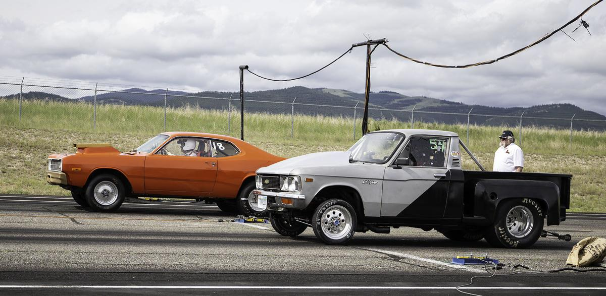Blast from the Past Drag Races in Helena