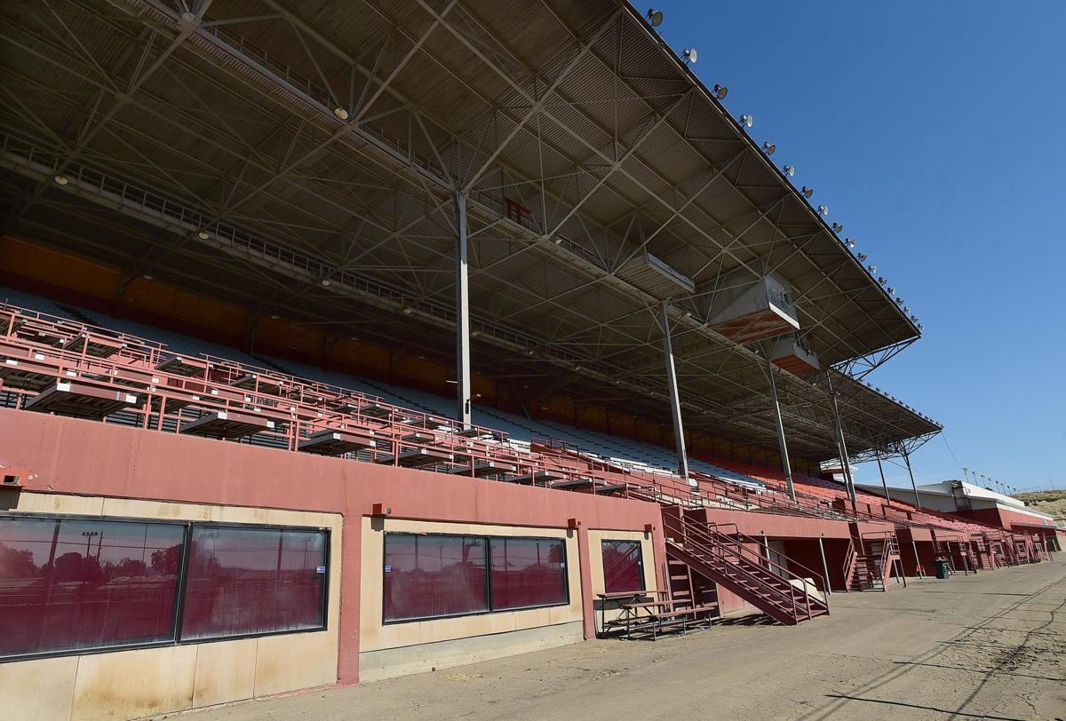 MetraPark grandstand