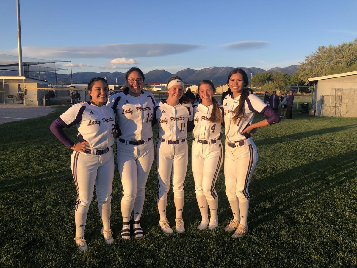 Polson softball seniors 2021