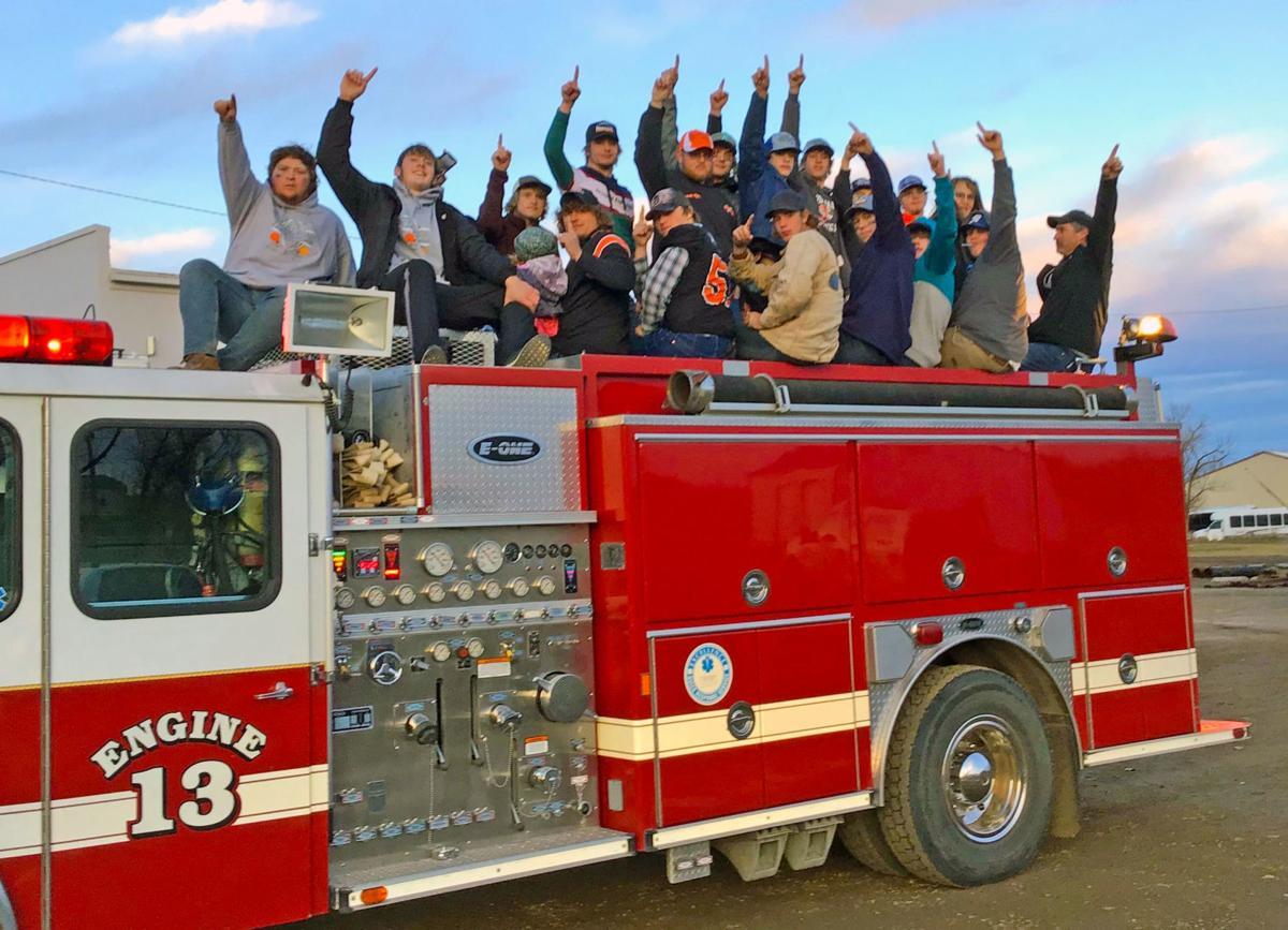 Jordan fire truck