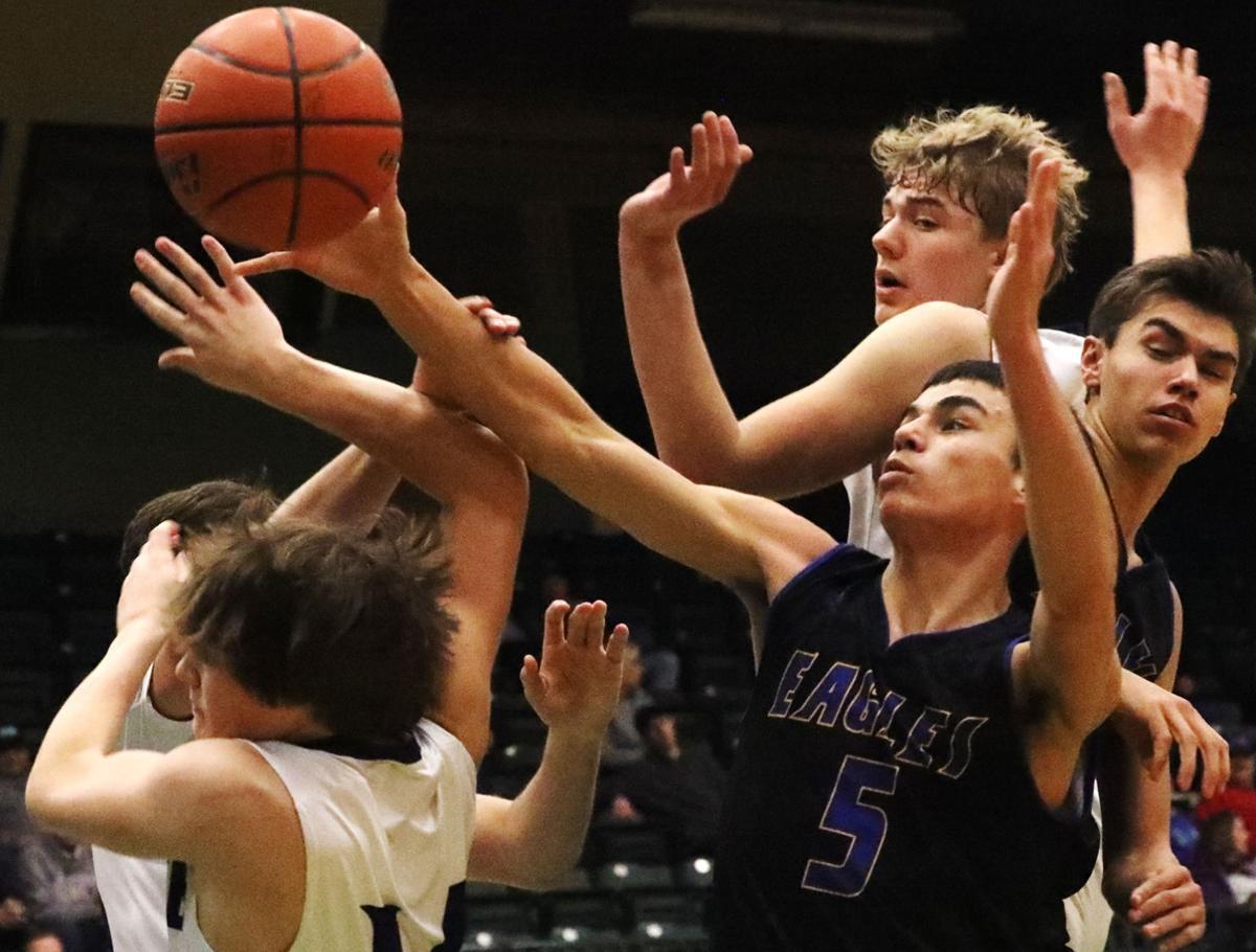 Butte vs. Missoula in Class AA boys' basketball