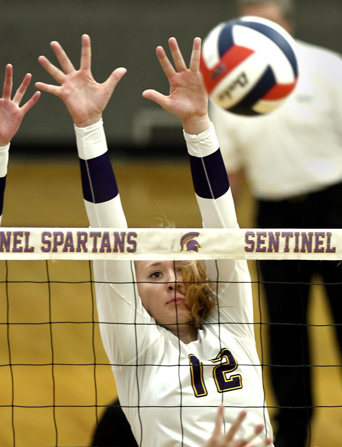 Sentinel vs Hellgate Volleyball