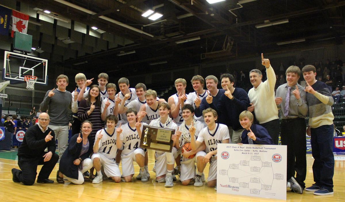 Dillon Beavers repeat as Class A basketball champions