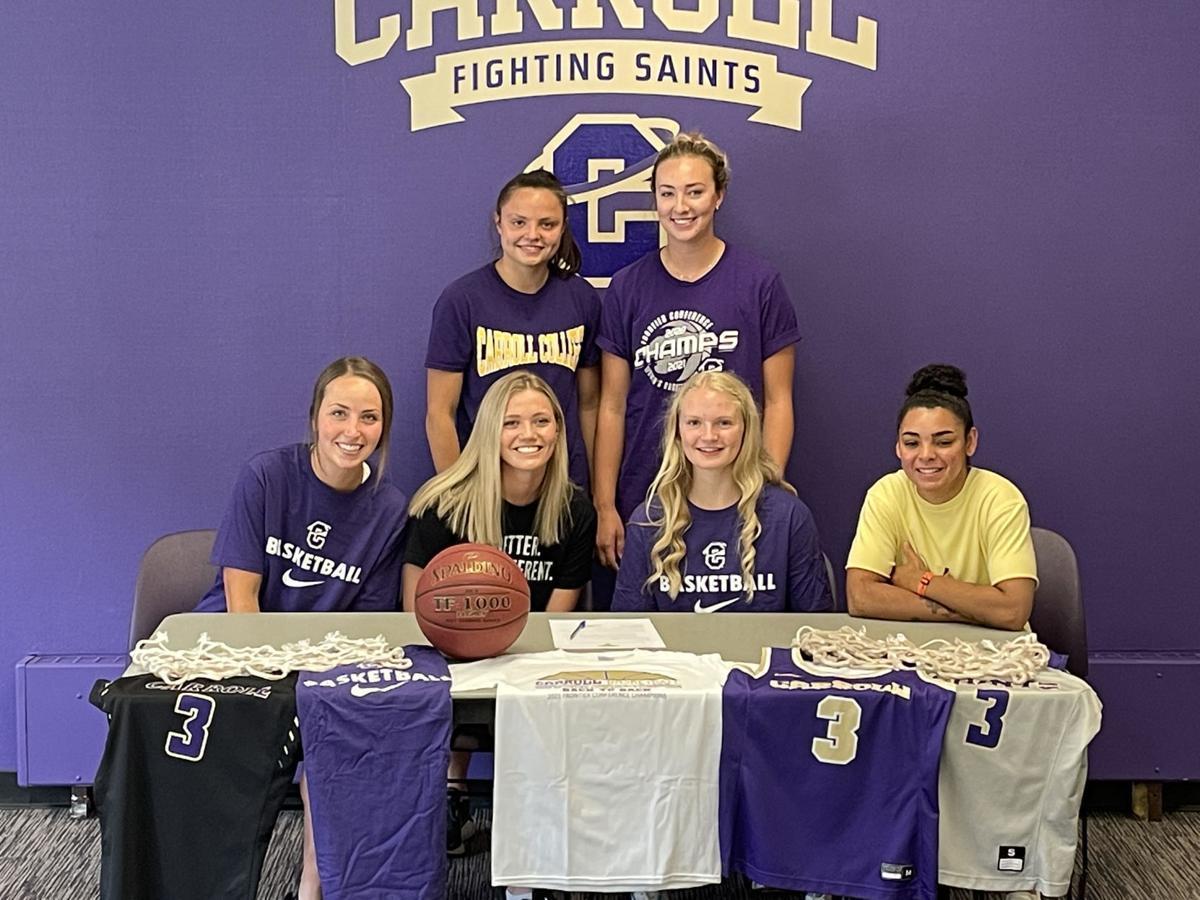 Sadie Filius signs with Carroll College 2021