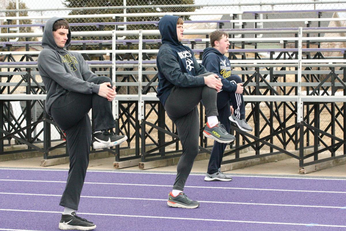 Butte Central track practice 2