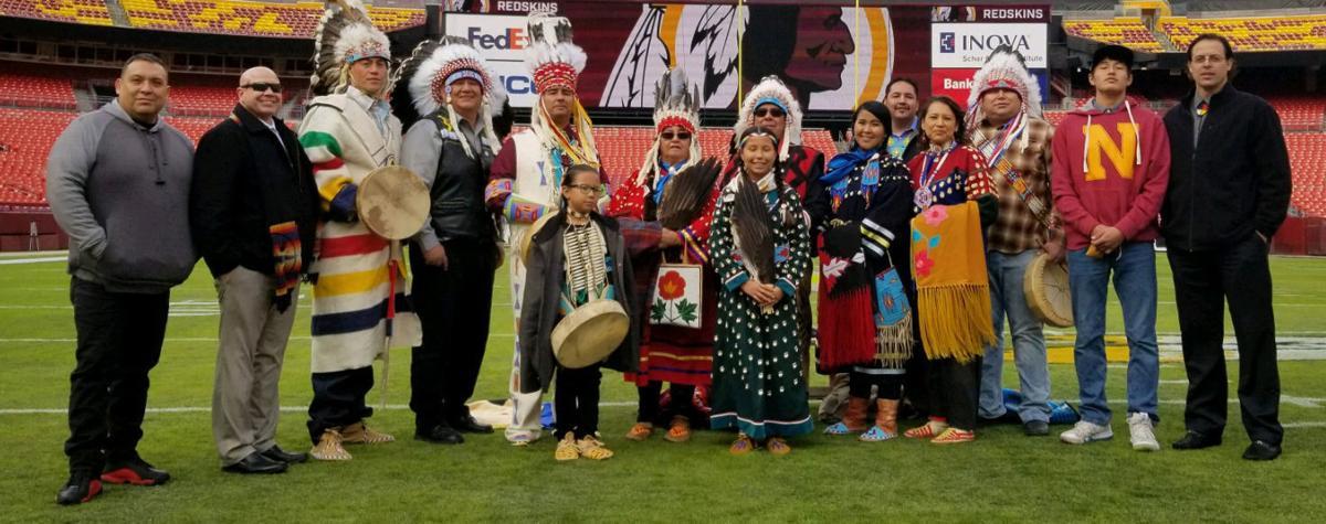Lance Wetzel and Ryan with tribal elders