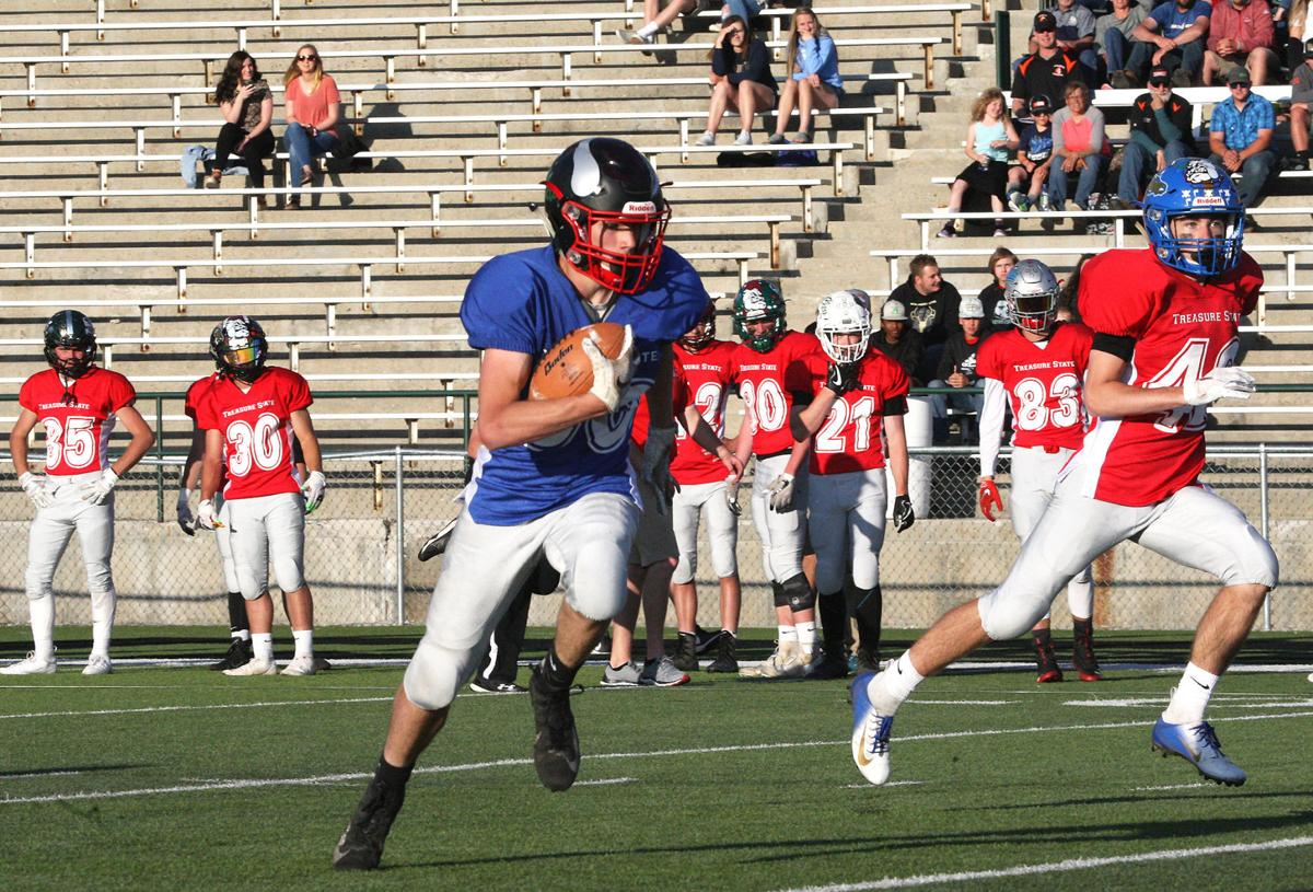 Bob Cleverley - Dylan Parks touchdown