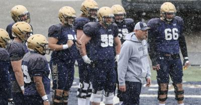 MSU Spring Football Practice
