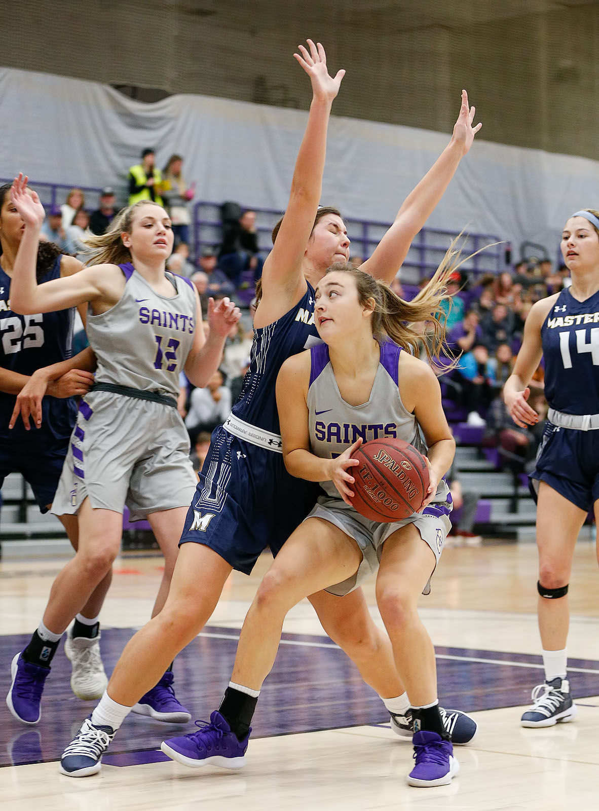 Size The Difference As Carroll College Womens Basketball -2907