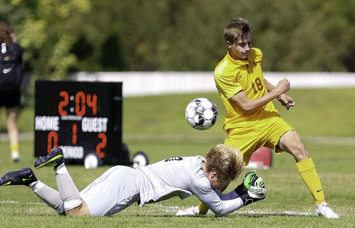 Capital High Boys Soccer vs Hellgate