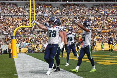 Seattle Seahawks tight end Will Dissly