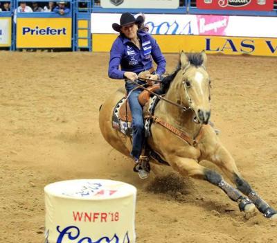 Circle native Lisa Lockhart balances motherhood and barrel racing at