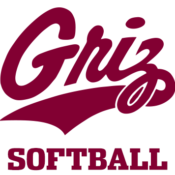 Griz softball logo