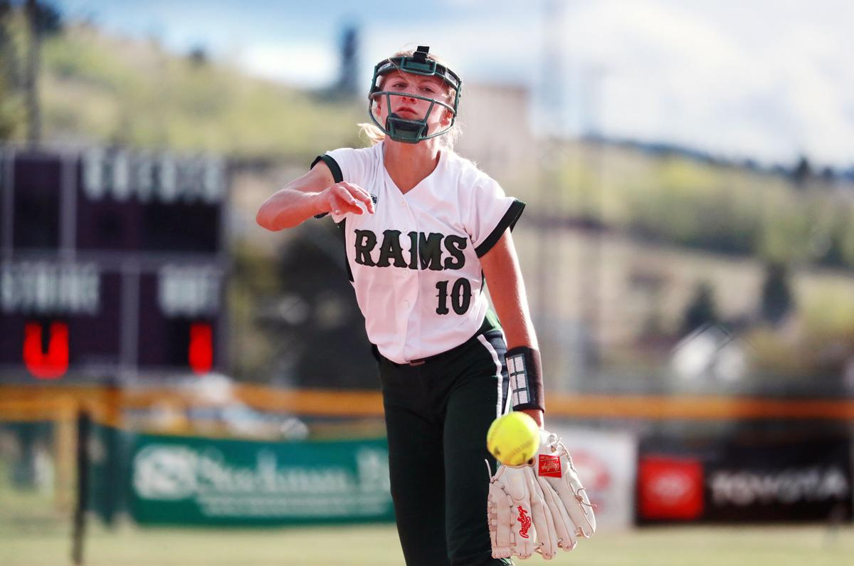 Billings Central at state softball