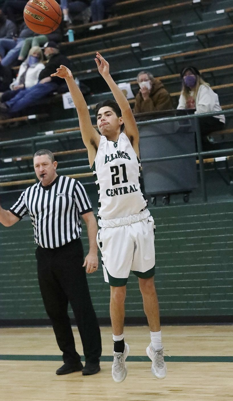 Billings Central's Clarence Stewart