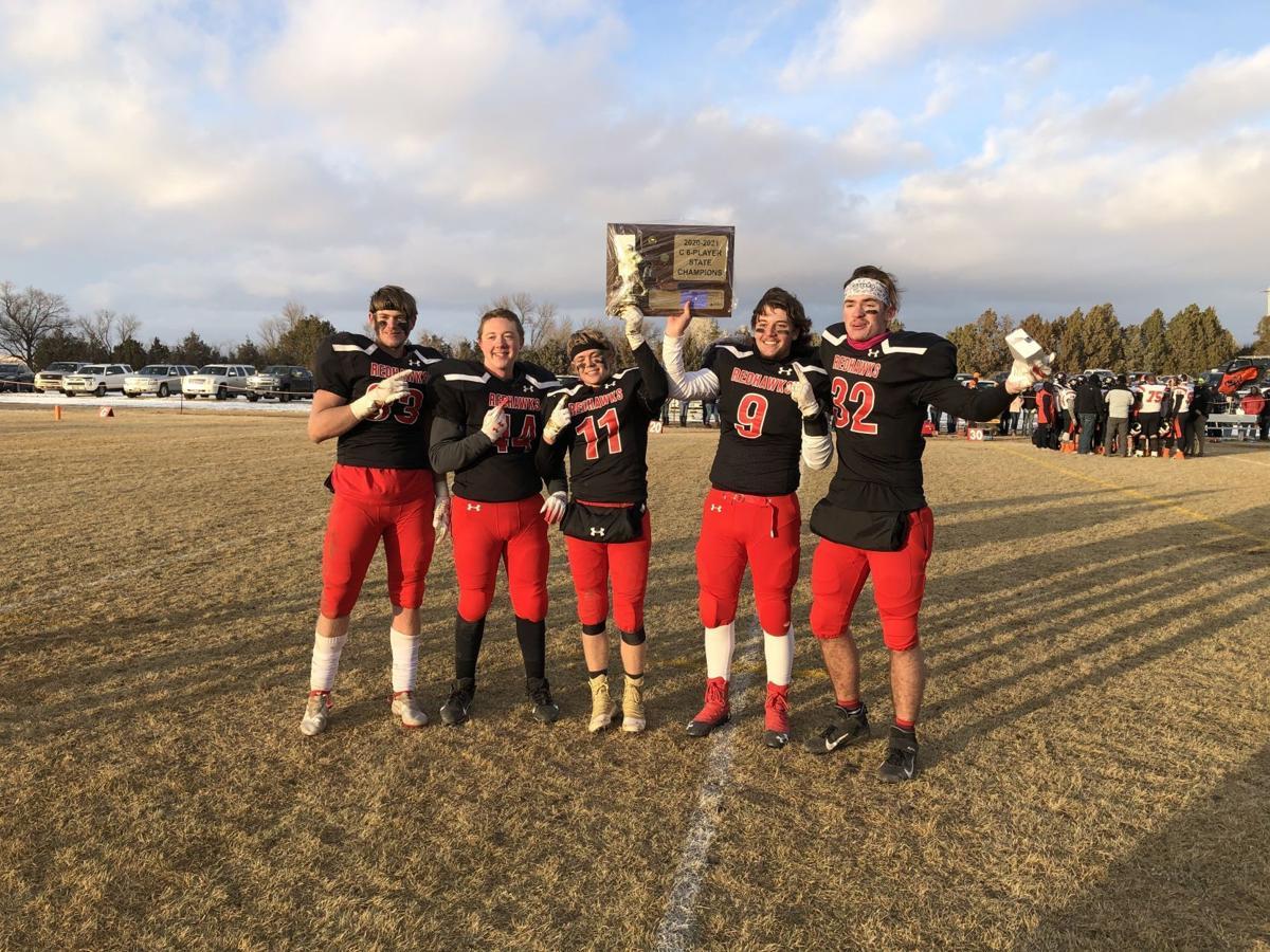 Froid-Medicine Lake seniors celebrate their championship season
