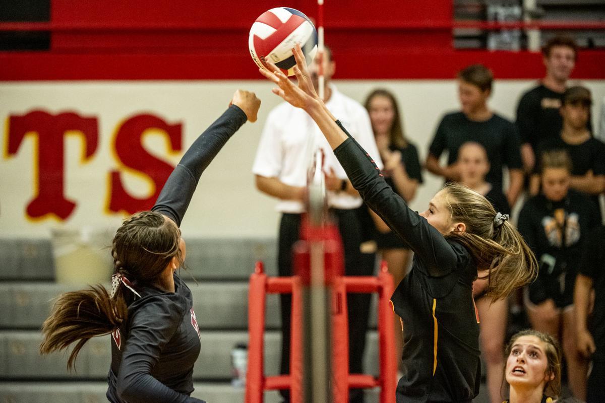 Hellgate Volleyball vs. Helena 01