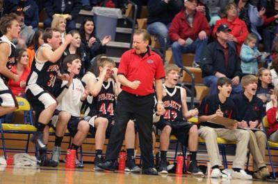 Huntley Project coach Mark Branger