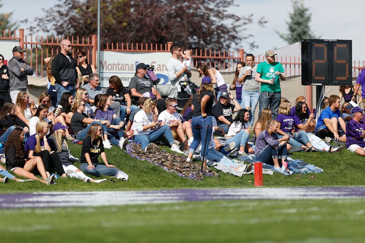 Carroll College football fans
