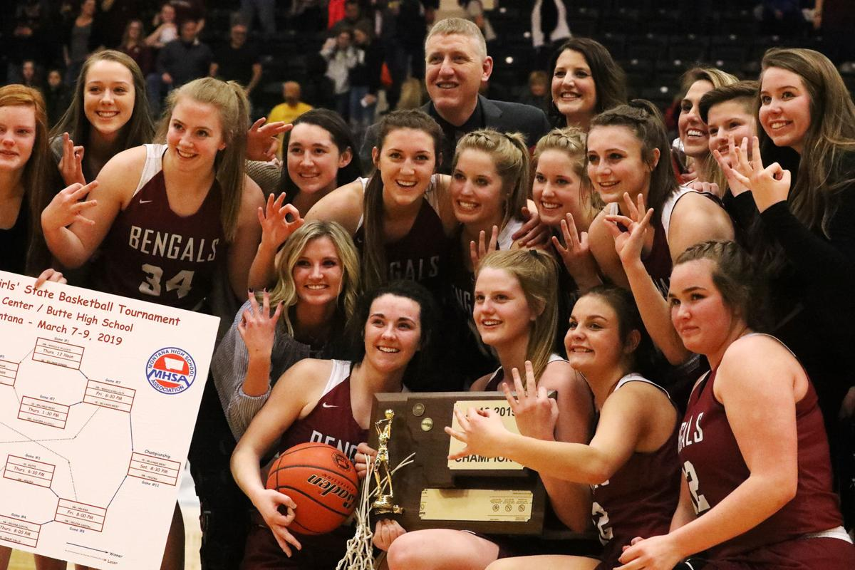 Class AA State Champs: Helena Girls Basketball
