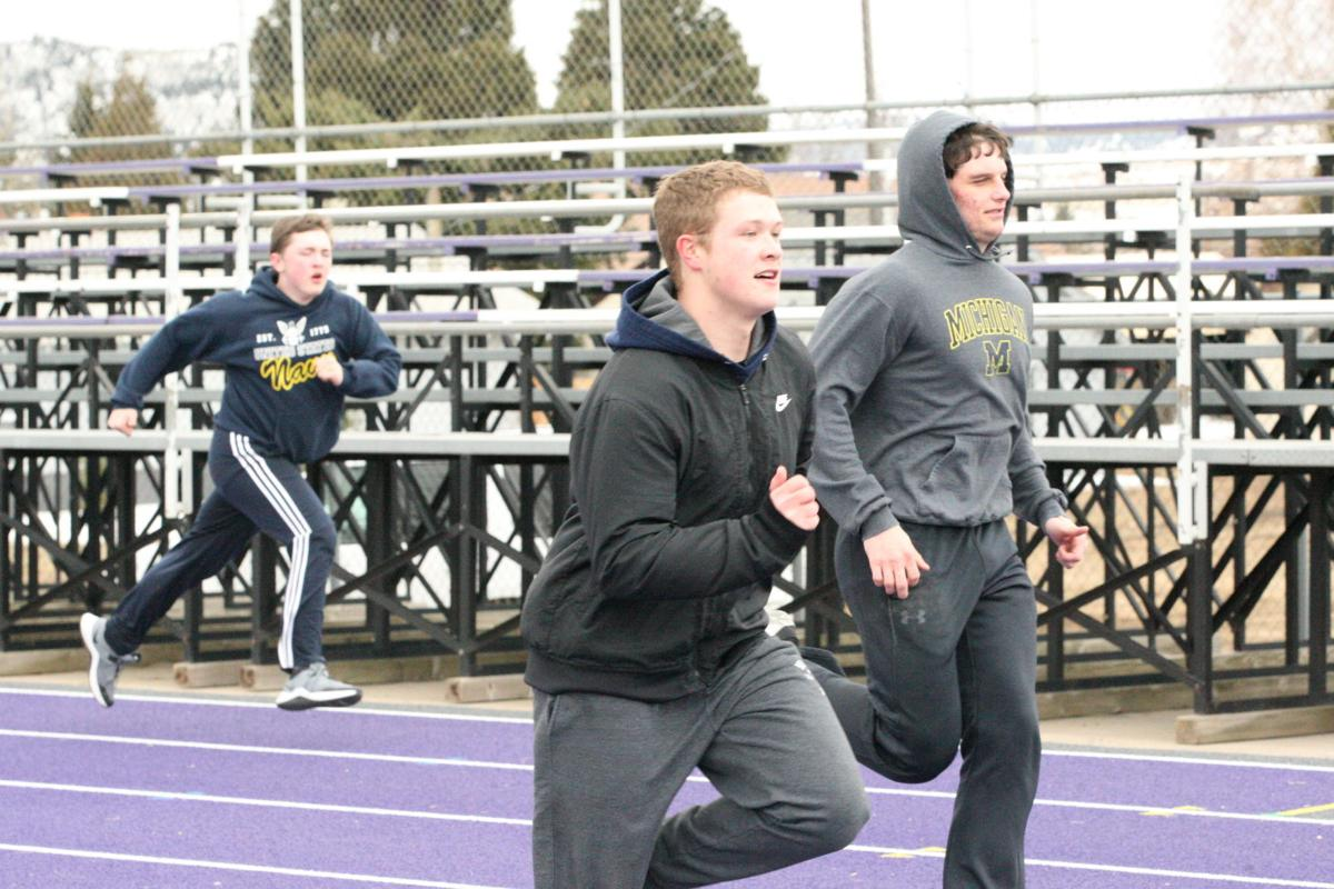 Butte Central track practice 1