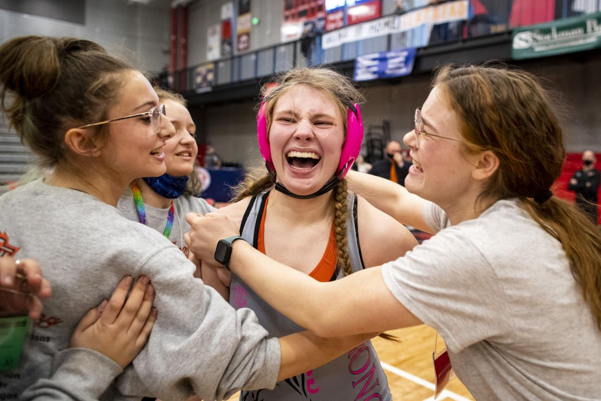 MHSA Girls Wrestling State Tournament Finals
