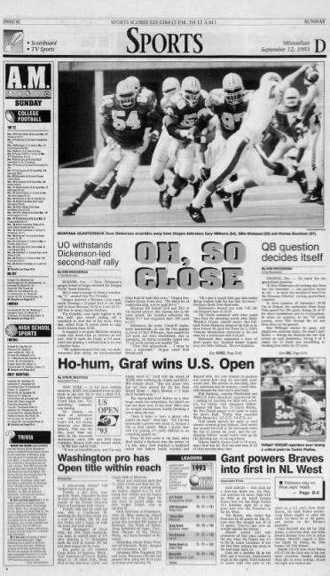 Montana Oregon 1993 full