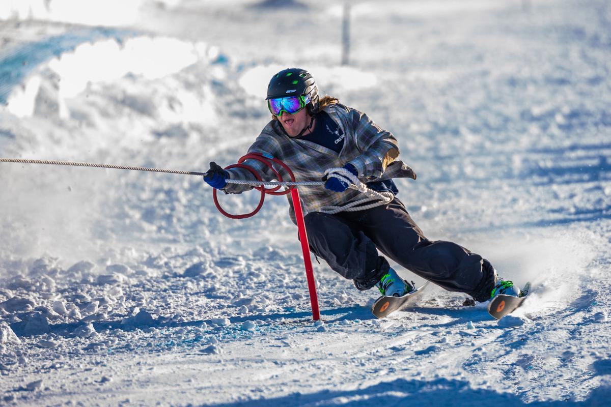 Helena skijoring