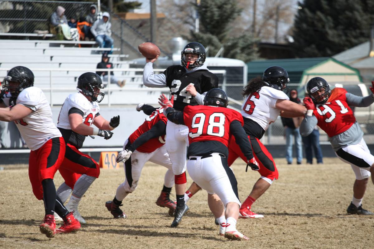 Spring Ball Competition Abounds For Montana Western