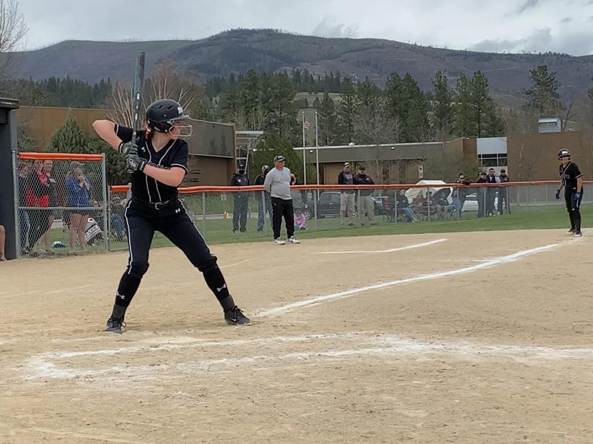 Frenchtown versus Browning softball