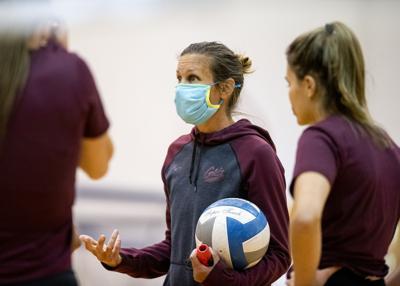 Griz volleyball practice 02