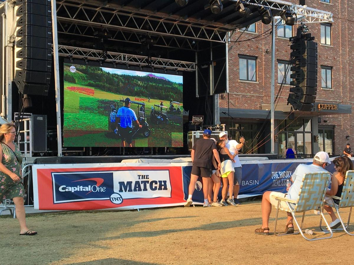 The Match watch party