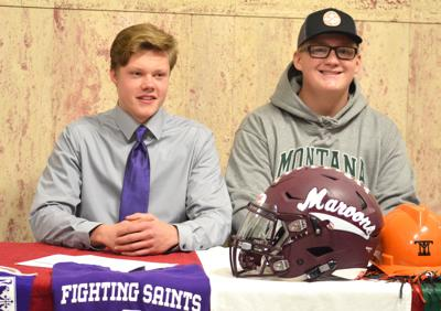 From teammates to rivals  Butte Central s Luke Jensen joins Carroll College,  Maroons  Seth Gardner signs with Montana Tech bb90b2fb95e