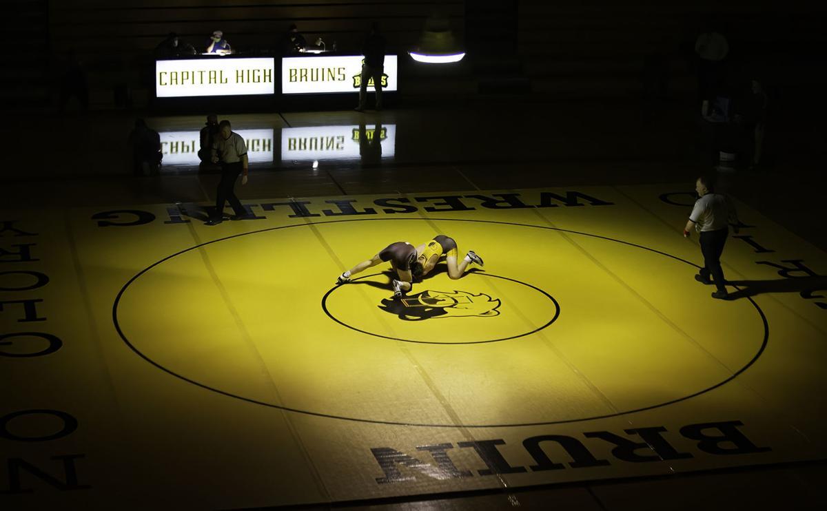 Crosstown wrestling match
