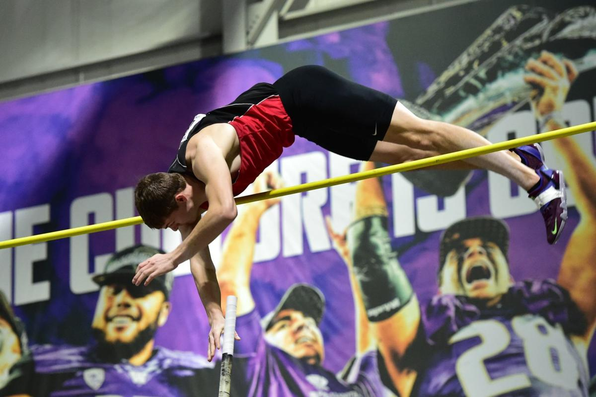 Helena Pole vaulter Chase Smith