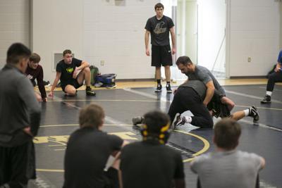 Billings West Wrestling Practice
