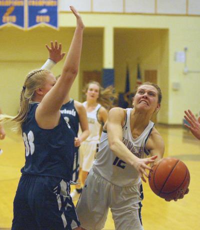 Anaconda-Dillon girls basketball