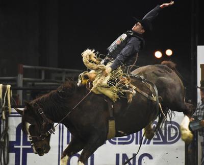 Chase Brooks Returns To Defend Prca Nile Saddle Bronc