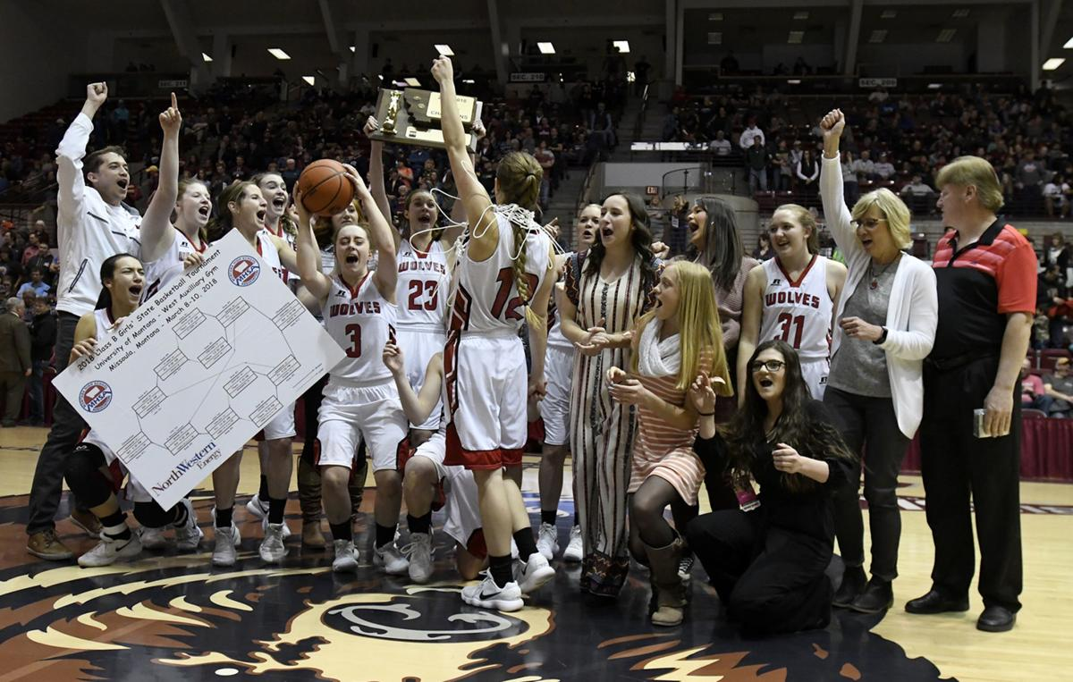 State B Girls Roundup Three Forks Wins 1st Title Since