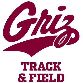 Griz track and field logo