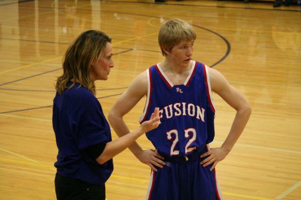 Richey-Lambert boys basketball coach Kara Triplett