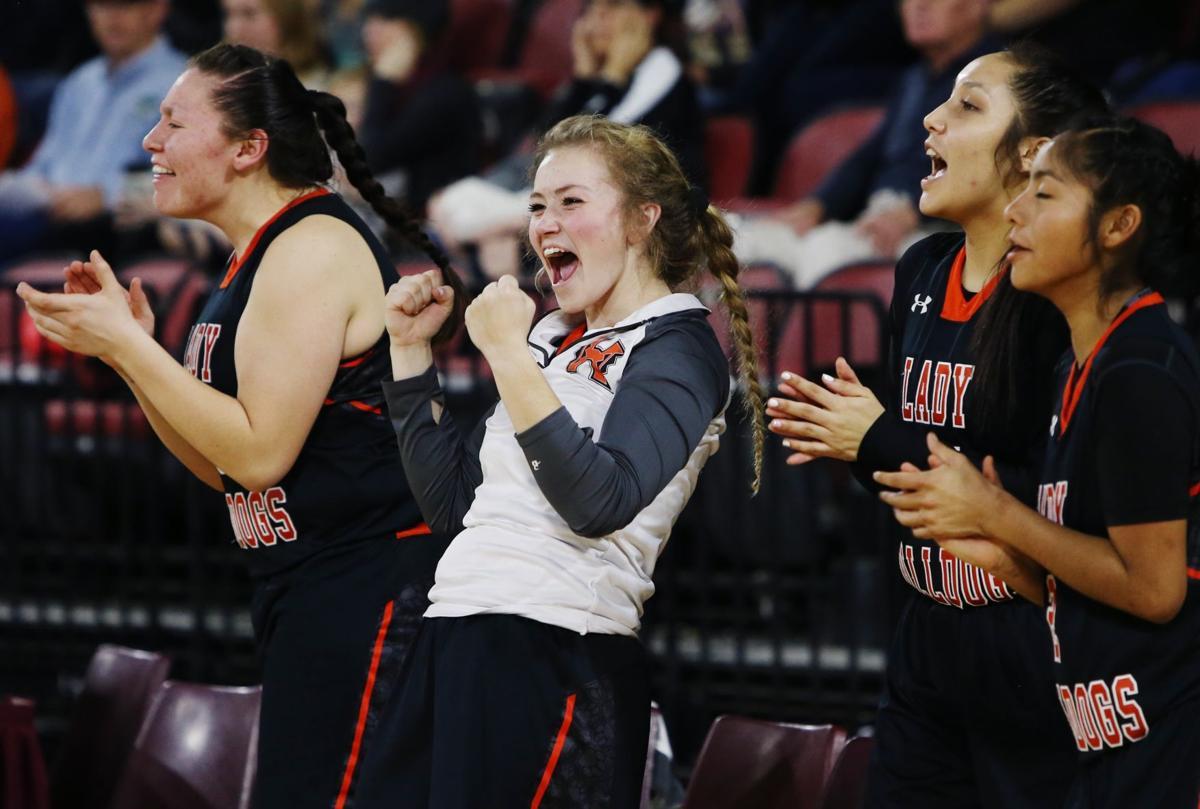Billings Central vs. Hardin girls basketball game