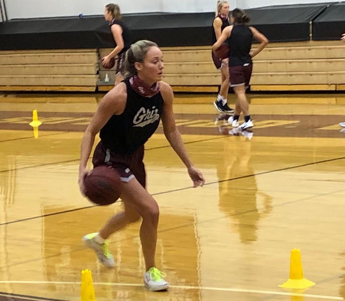 Sophia at practice