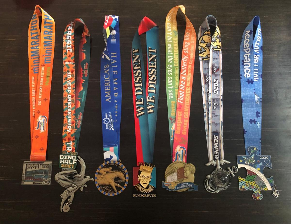 Rebecca Halford Medals