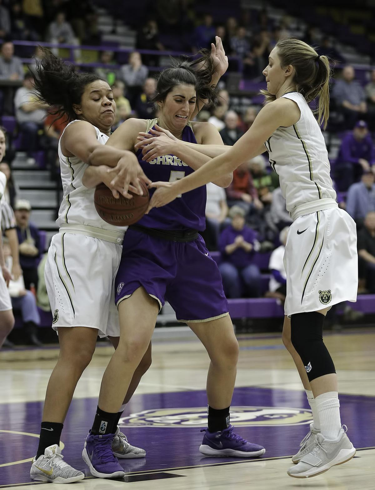 womens basketball; CC vs Rocky