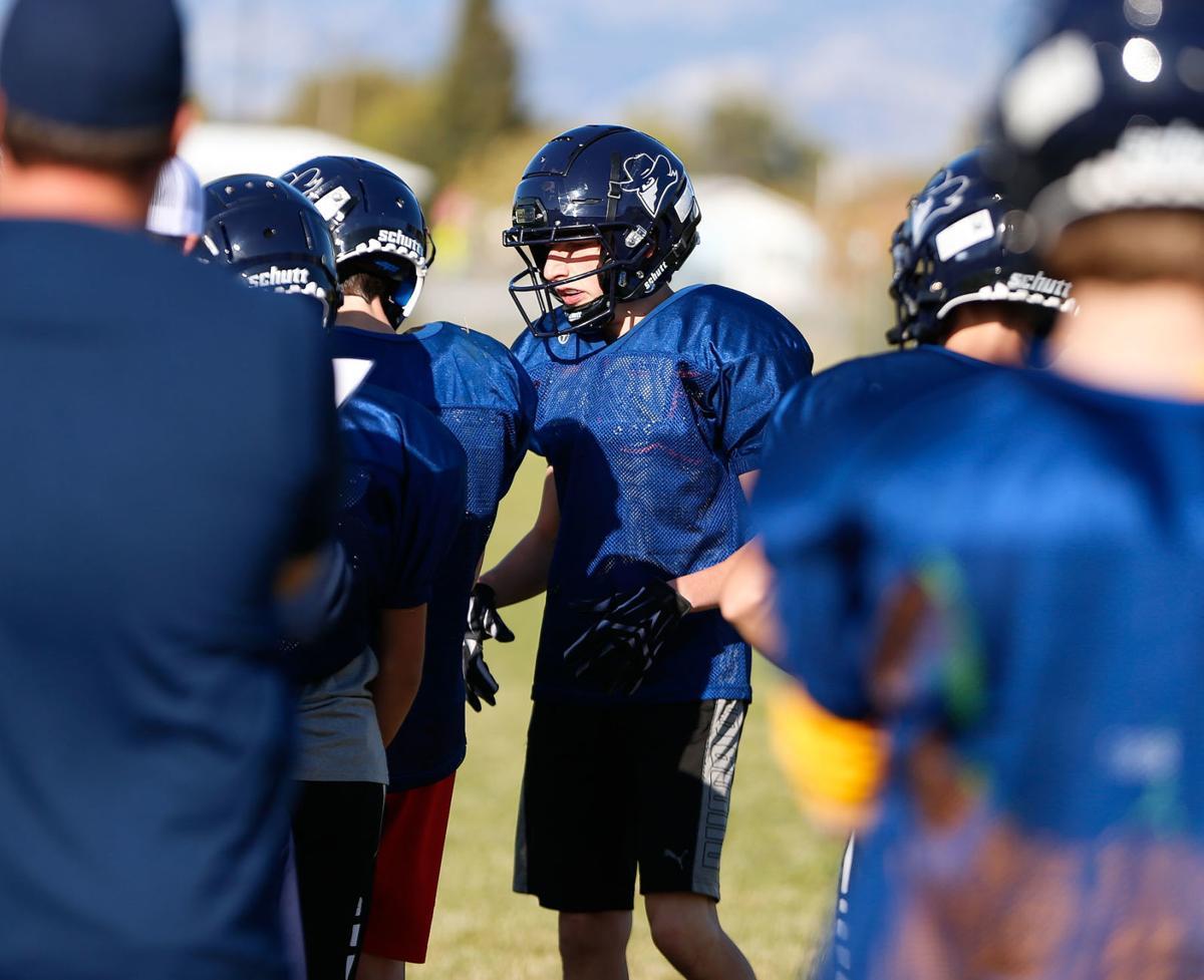 East Helena football practice